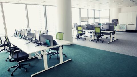 """Image for Titanhouse blog article titled """"Should Your B2B Sales Team Return to the Office?"""""""