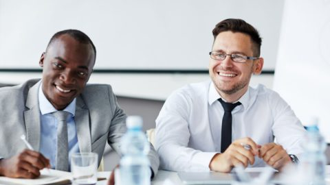 image of sales interview that includes sales manager